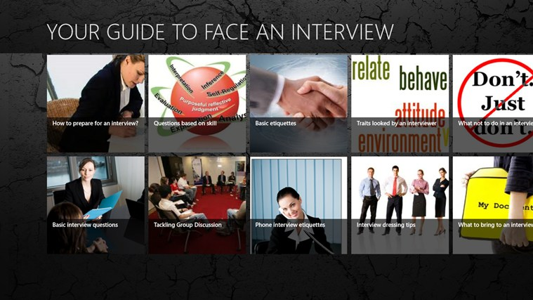YOUR GUIDE TO FACE AN INTERVIEW Tangkapan Layar 0