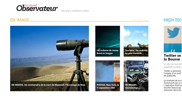 Le Nouvel Observateur capture d'écran 4