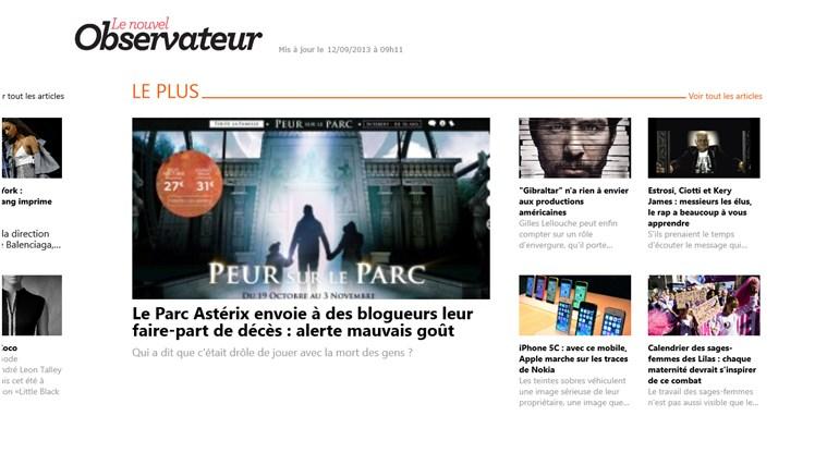 Le Nouvel Observateur capture d'écran 6