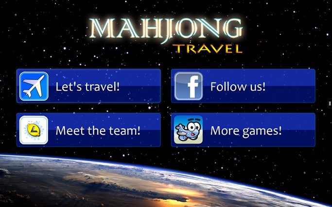 Mahjong Travel screen shot 0
