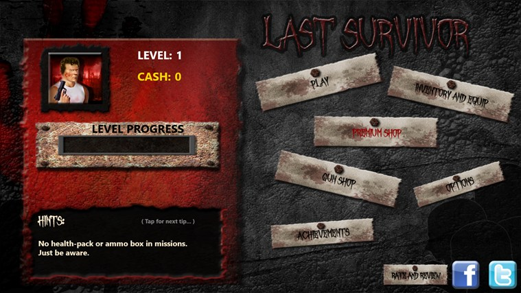 Zombies: Last Survivor screen shot 4
