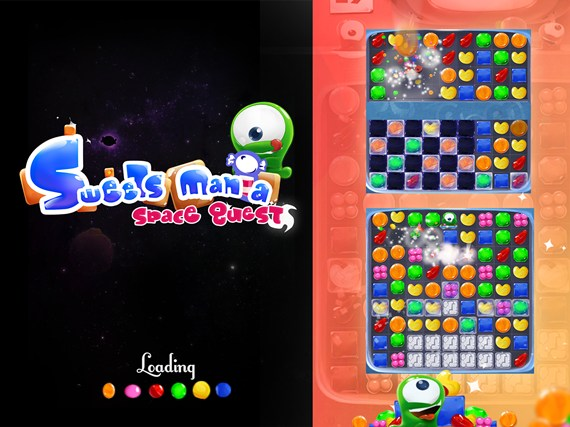 Sweets Mania Candy Match 3 Game screen shot 0