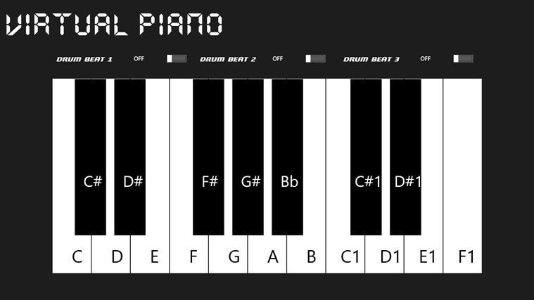 Virtual-Piano screen shot 0