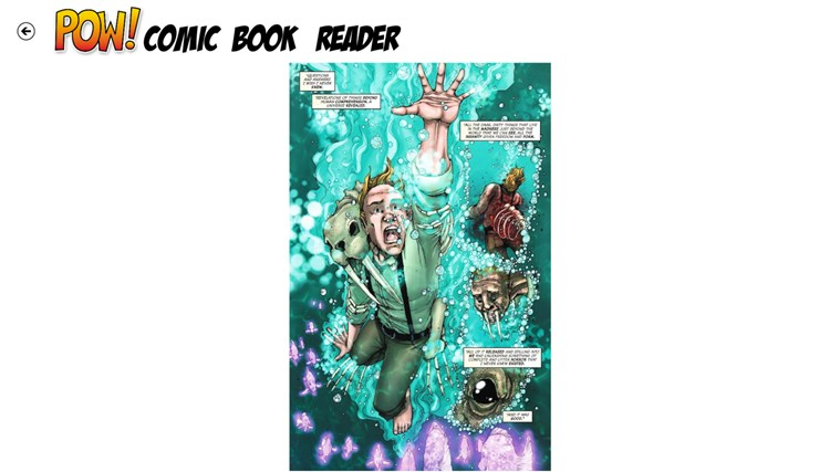 POW! Comic Book Reader screen shot 2