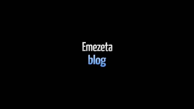 Emezeta Blog: снимок экрана 0