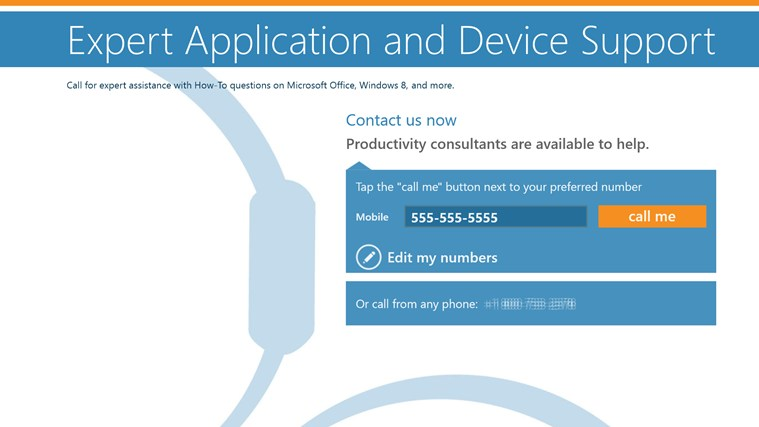 Vitalyst Windows 8 Help App screen shot 0