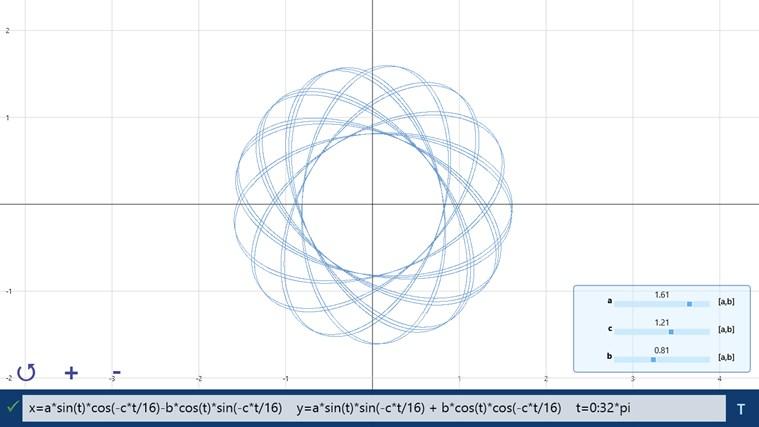 Windows 스토어의 Windows용 Equation Sketchpad 앱