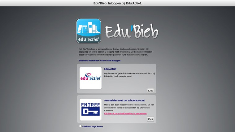 Edu'Bieb screen shot 0