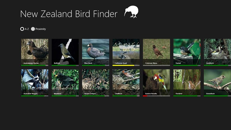 NZ Bird Finder screen shot 0