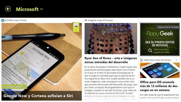 Appy Geek captura de pantalla 2