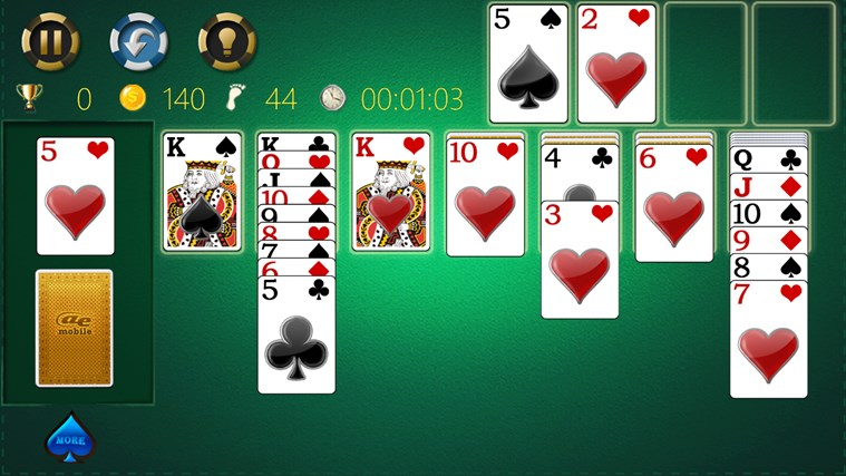 AE Solitaire screen shot 2