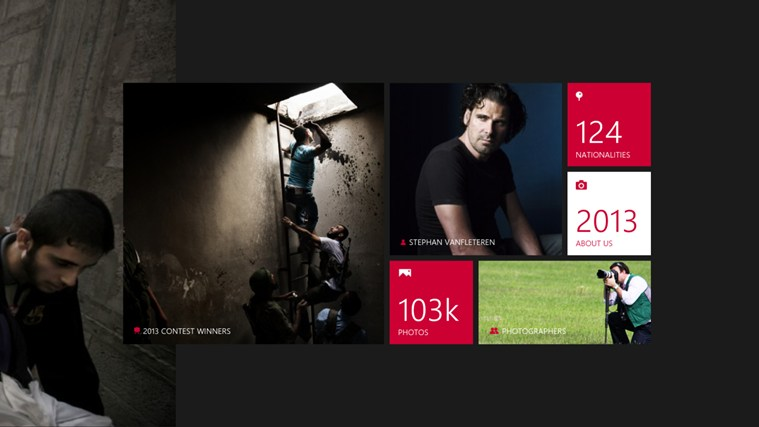 2013 World Press Photo Contest screen shot 2