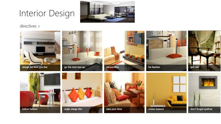 Interior Design screen shot 0