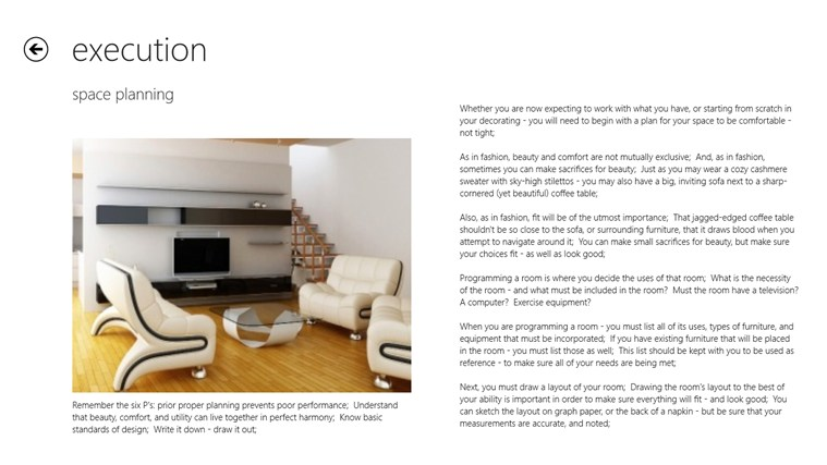 Interior Design screen shot 2