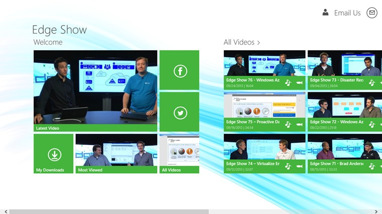 TechNet Edge Show screen shot 0