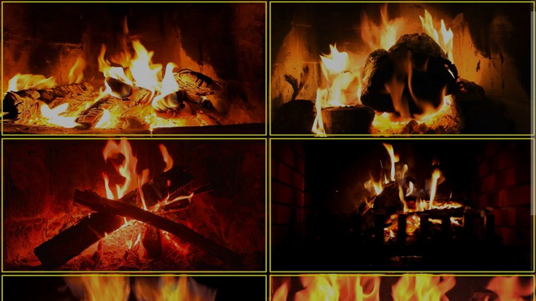 Virtual Fireplace full screenshot