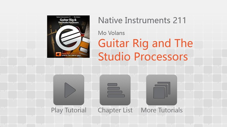 NI - Guitar Rig & Studio Processors ภาพหน้าจอ 0