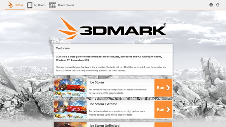 3DMark screen shot 0
