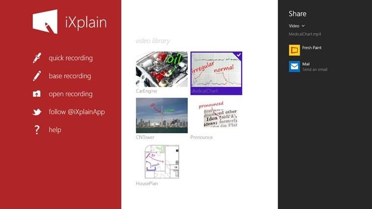 iXplain screen shot 8