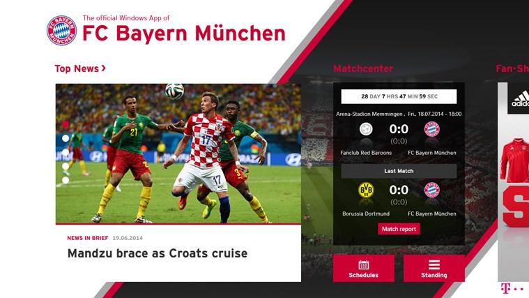FC Bayern München screen shot 0