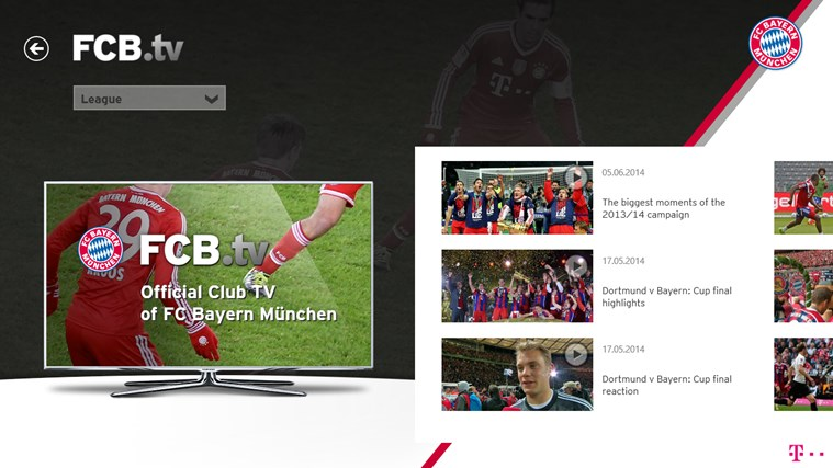 FC Bayern München screen shot 2