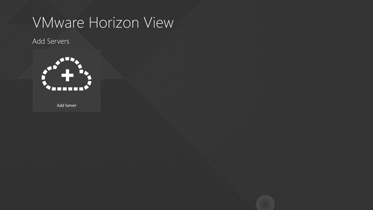 VMware Horizon View screen shot 0