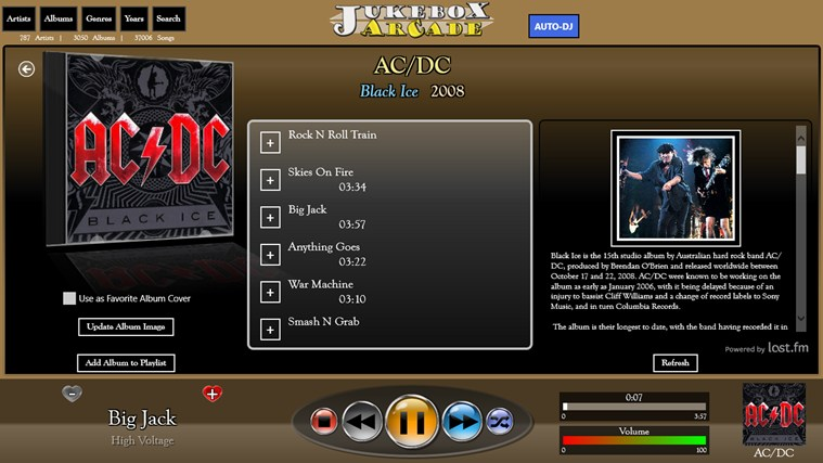 Jukebox Arcade screen shot 2