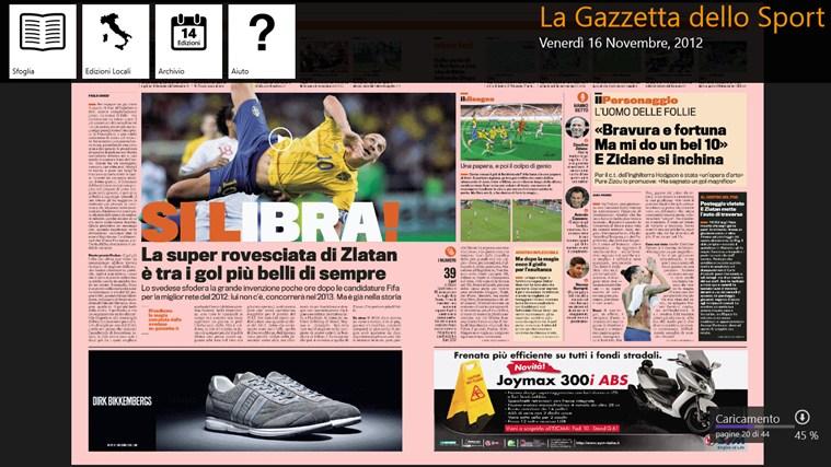 La Gazzetta dello Sport - Digital Edition cattura di schermata 4