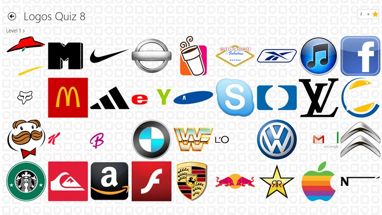 Logos Quiz 8 screen shot 2