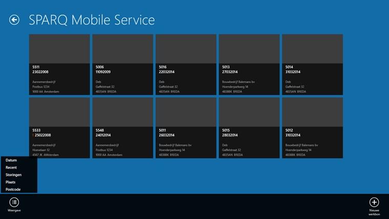 SPARQ Mobile Service screen shot 0