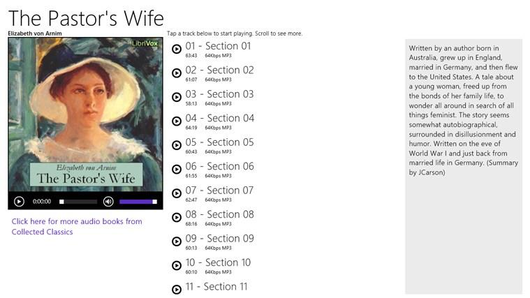 The Pastor's Wife - Elizabeth von Arnim ekrano nuotrauka 0