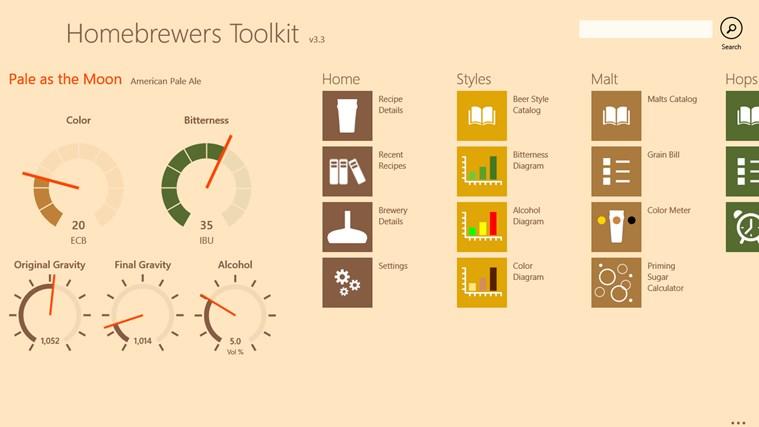 Homebrewers Toolkit schermafbeelding 0