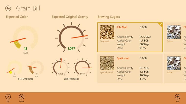 Homebrewers Toolkit schermafbeelding 2