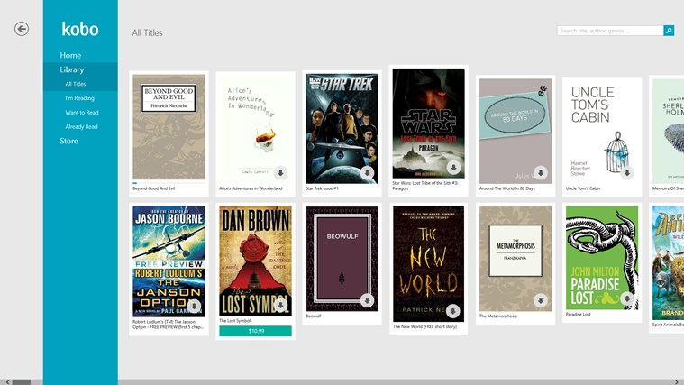 Kobo Books screen shot 0