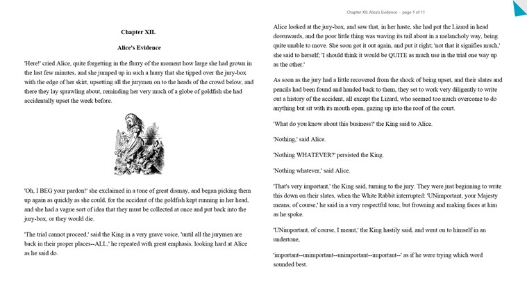 Kobo Books screen shot 2