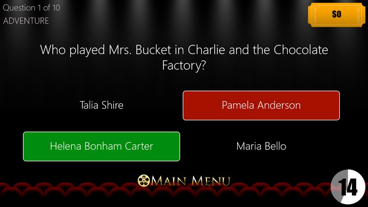 Movie Trivia screen shot 4