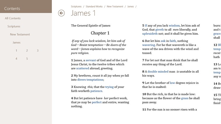 LDS Gospel Library screen shot 4