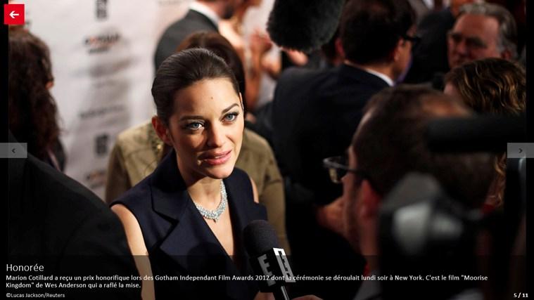 Paris Match Actu capture d'écran 2
