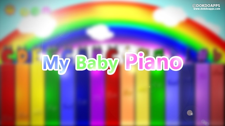 My baby Piano free screen shot 0