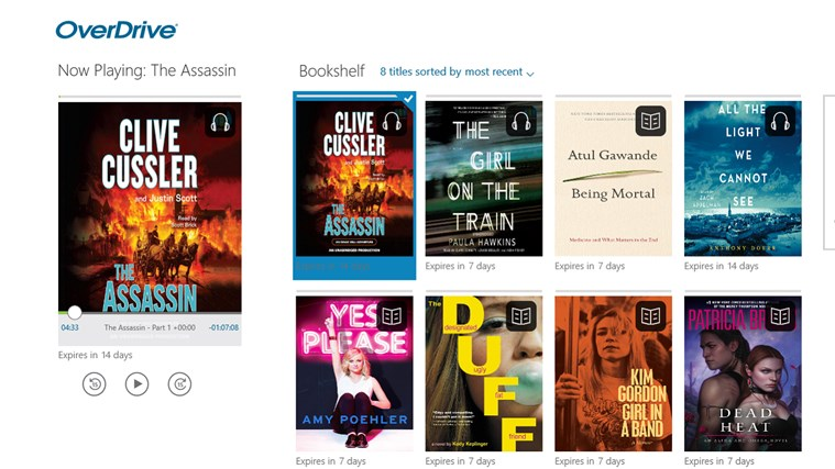 OverDrive - Library eBooks & Audiobooks screen shot 0