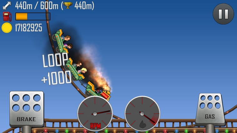 Hill Climb Racing screen shot 6