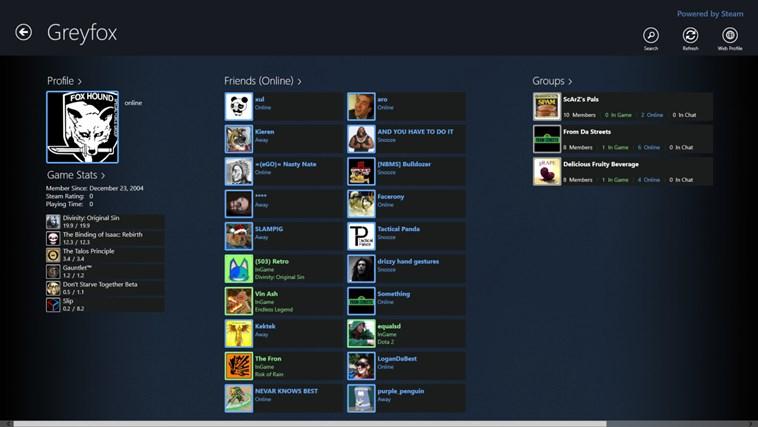 Steam Community Viewer screen shot 0