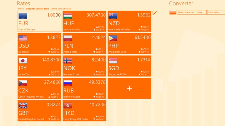 Currency Tracker screen shot 0
