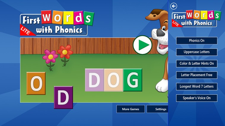 First Words with Phonics Lite screen shot 4