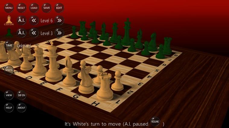 3D Chess Game screen shot 4