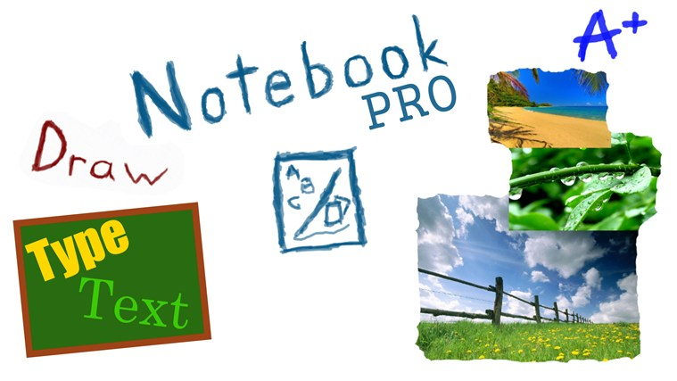 Notebook Pro screen shot 0