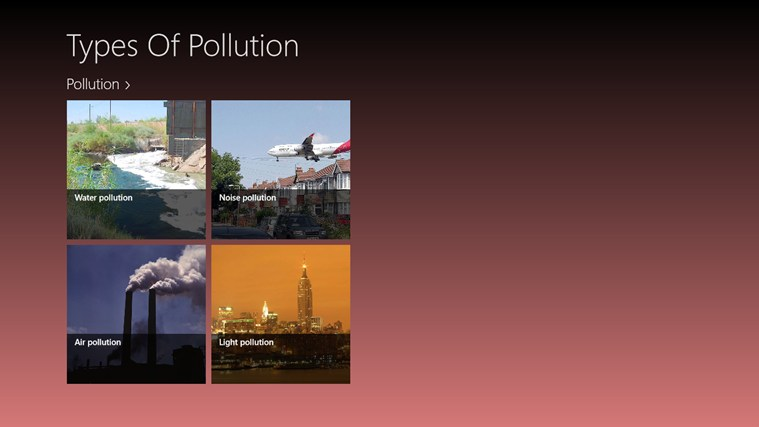 the different sources of pollution and how it can be solved Pollution: what can i do | source rather than a problem to be solved, the world is a joyful mystery to be contemplated with gladness and praise.