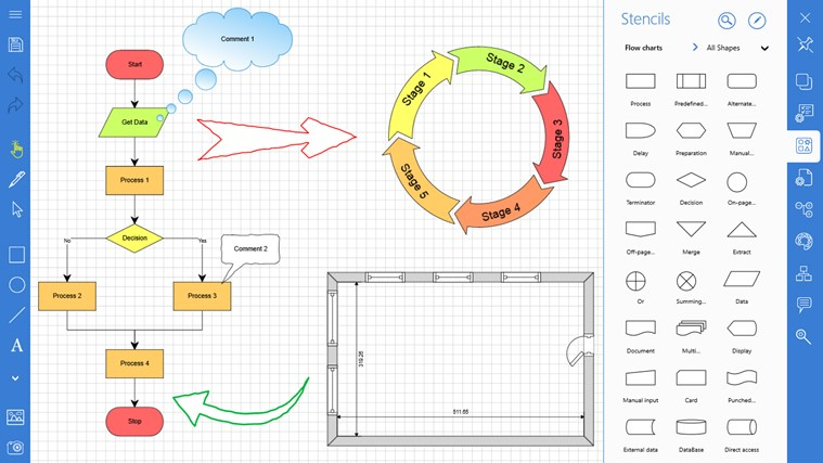 Grapholite Diagrams Flow Charts And Floor Plans