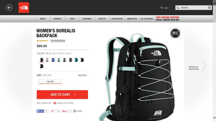 Shop The North Face screen shot 2