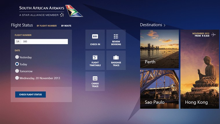 FlySAA screen shot 0